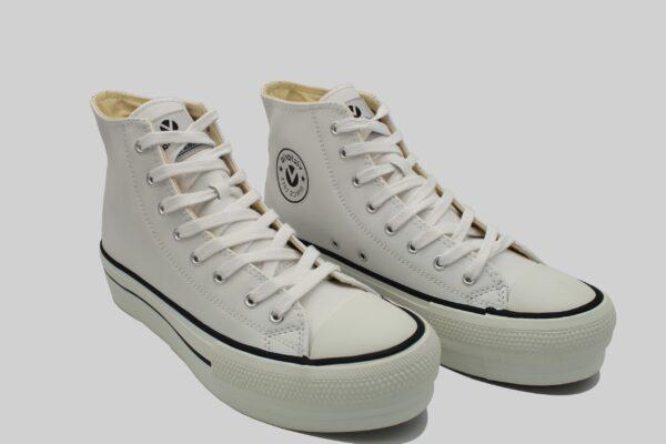 Zapatillas Victoria botín tipo basket